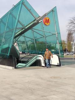 Metro station - 150m.