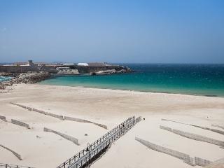 Apartamento primera línea de playa con piscina