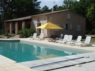 Les Charles 133635 villa for 8 people with garden of 11.000 m2, pool 12 x 6 mtr., Le Muy