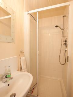 Ensuite shower room off master bedroom