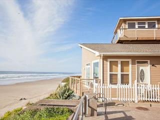 Huge, luxury oceanfront home has two great rooms for large groups!