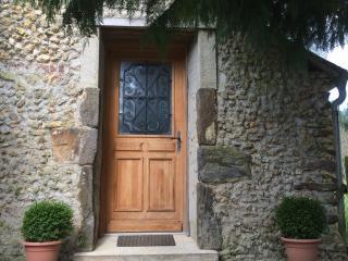 front door of Gite