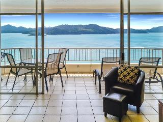 View from Kitchen across to Whitsunday Island