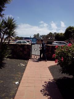 Convenient entrance