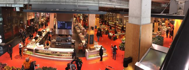 Your local supermarket, the famous Loblaws in the old Toronto Maple Leafs Gardens arena.