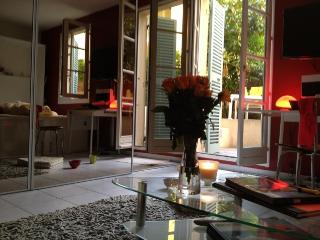 Romantic old town apartment with large terrace, Niza