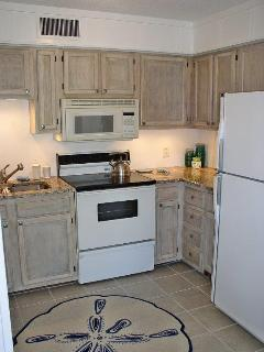 Renovated Kitchen; Granit Counters, Dish Washer, Disposal, Frig, Electric Range