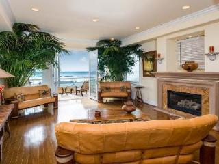 Beachfront Huntington Beach Luxury Villa offers an elevator and gourmet kitchen