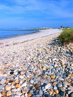 Gorgeous Shell Beach - Views of North Haven and Sag Harbor