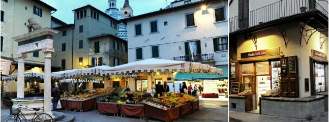 Pistoia, Piazza della Sala with resturants, bar and night life :) 5 min walking from home.