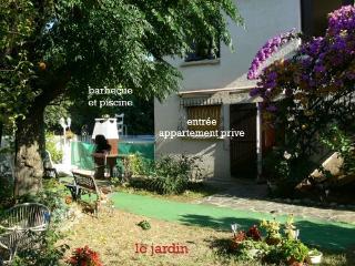 Rdc d'une jolie villa sur 350m2 de jardin, Laroque-des-Albères