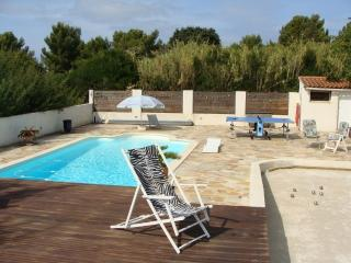 Ground floor of a villa: peaceful with pool, La Seyne-sur-Mer