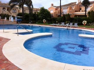 Luxury large villa on beach complex, Estepona