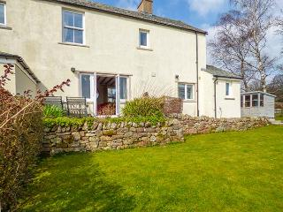 STAG COTTAGE, sandstone fronted, woodburning stove, off road parking, garden