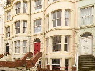 COAST VIEW, ground floor flat, short walk to seafront, near North York Moors