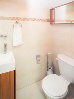 1/2 bathroom upstairs