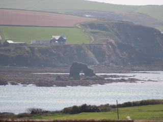View of Thurlestone Rock from principle rooms