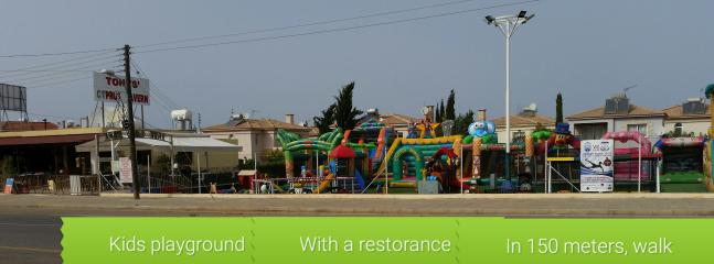 Playground in 150 meters with restorance