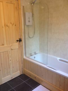 Newly fitted Lodge bathroom
