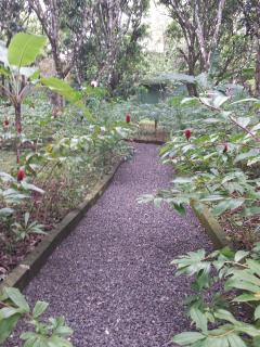 Meanduring paths found throughout the Estate