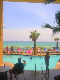 View from Splash pool deck