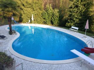 Appartamento in villa Anna con Parco e Piscina, Porto Valtravaglia