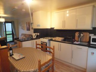 Well equipped kitchen -   oven + hob,   microwave,   fridge/freezer,   kettle,  toaster  etc.