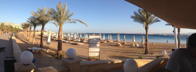 Beech bar a short walk down from azzurra in the old town £2 entry a day with towels and shower