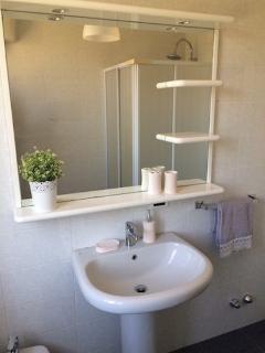 il bagno al piano terra
