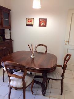 il tavolo in cucina