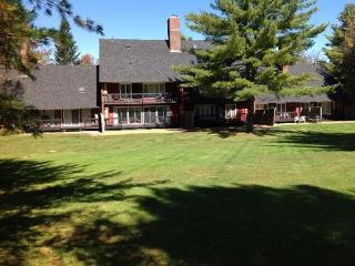 Pet Friendly Waterville Valley Vacation Condo with shared outdoor pool close by!