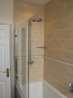 Power Shower at Clewer Lodge