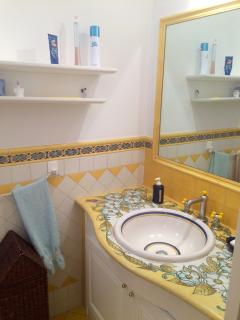 Bathroom in main bedroom