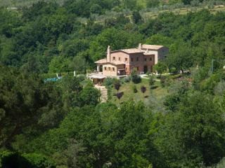 Modern yet traditional holiday villa in Roccantica on 3 acres, near Rome, Lazio