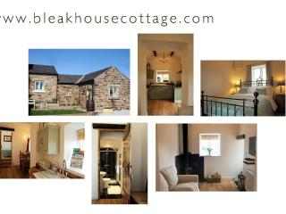 Award winning luxury romantic cottage with Real Log Burner, Longnor