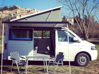 VW T5 California, Seillans