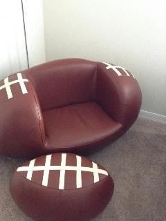 Twin bedroom Sport Chair