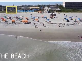 *Ocean Front 1/1 Pet Friendly Downtown Cocoa Beach