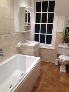 Bathroom at Clewer Lodge
