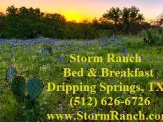 Storm Ranch Bed and Breakfast, Dripping Springs
