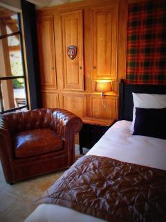 la chambre Glencoe du Domaine de Ferchaud