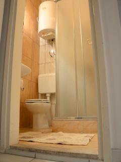 Aqua Cittadella-bathroom. On the 3rd floor.