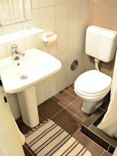 Aria Cittadella-bathroom.On the 1st floor.