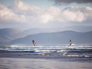 Windsurfing on Inch Beach