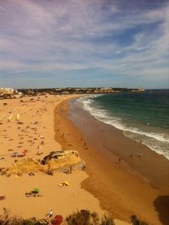 La Praia da Rocha a 5 minutos de casa.