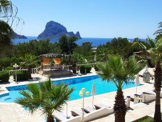 Studio with sea views and views on Es Vedra, Ibiza