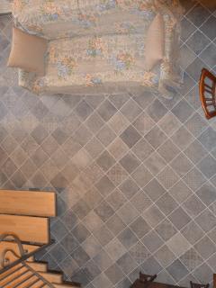 particolare della decorazione del pavimento