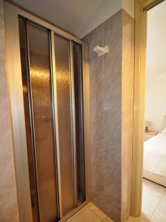 Second bathroom's shower