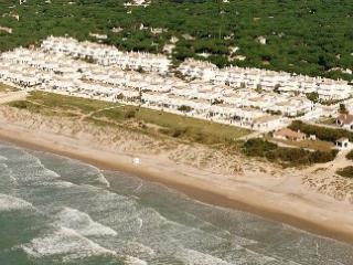 beach in Playa de la Barrosa, Chiclana-Cadiz, Novo Sancti Petri