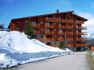 ChantelD - stunning ski in and out 4 bedroom apartment, with access to a pool